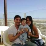 Leo Thiago Messi hijo