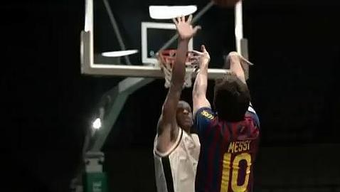 messi baloncesto